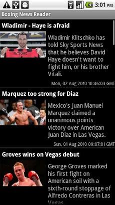 Boxing News Readerのおすすめ画像1