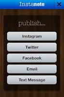 Screenshot of Instanote for Instagram, SMS+