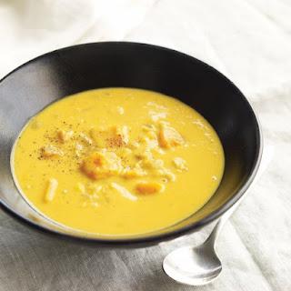 Corn and Butternut Squash Chowder.