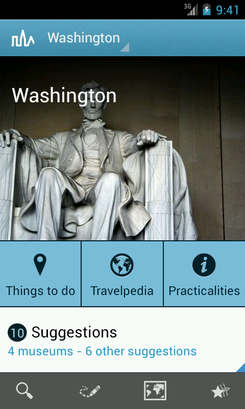 Washington D.C. Travel Guide- screenshot