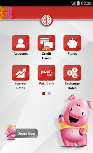 SCSB Mobile Banking - náhled