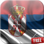 Flag of Serbia Live Wallpaper