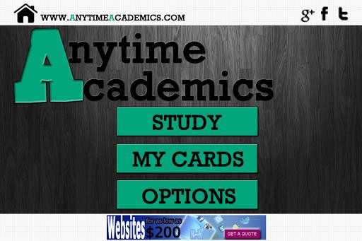 Anytime Academics