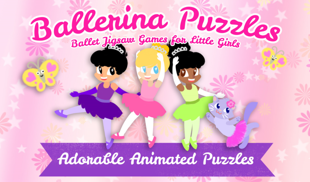 Ballerina Puzzles for Kids- screenshot