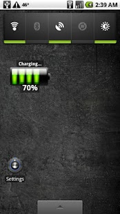 Battery Percentage Widget