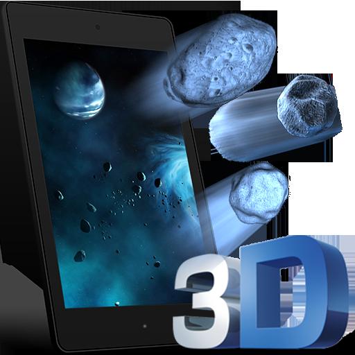 3D Galaxy Parallax LWP