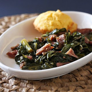 Turnip Greens With Ham Shanks