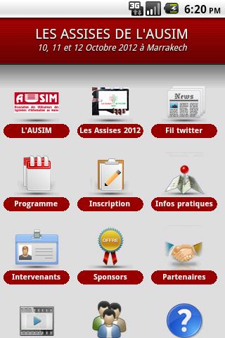 AUSIM- screenshot