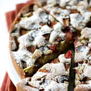 Plum Pistachio n Cardamon Cake