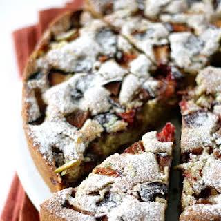Plum Pistachio n Cardamon Cake.