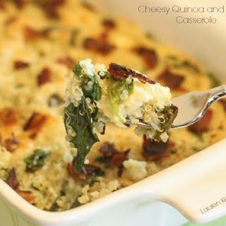 Cheesy Quinoa and Bacon Casserole