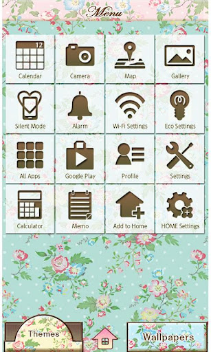 Wallpaper Theme Petit Floral 1.6 Windows u7528 2