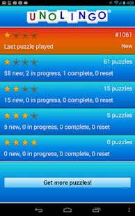 Unolingo: No Clue Crosswords - screenshot thumbnail