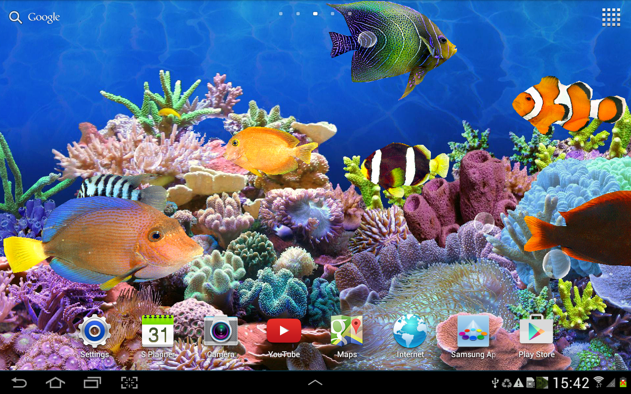 Aquarium live wallpaper hd android apps on google play for Aquarium fish online