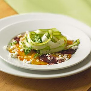 Asparagus, Beet & Goat Cheese Salad