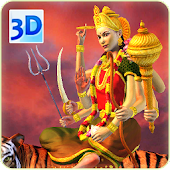 3D Durga Live Wallpaper