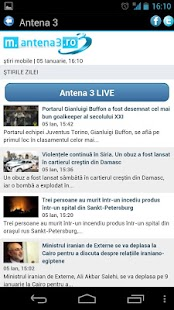 Stiri Romania - screenshot thumbnail