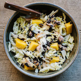 Chicken, Mango, and Black Rice Salad.