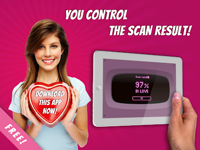 Free Love Finger Scanner Prank- screenshot thumbnail