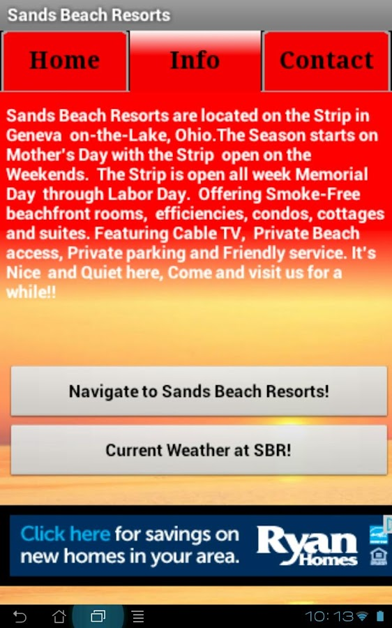 Sands Beach Resorts- screenshot