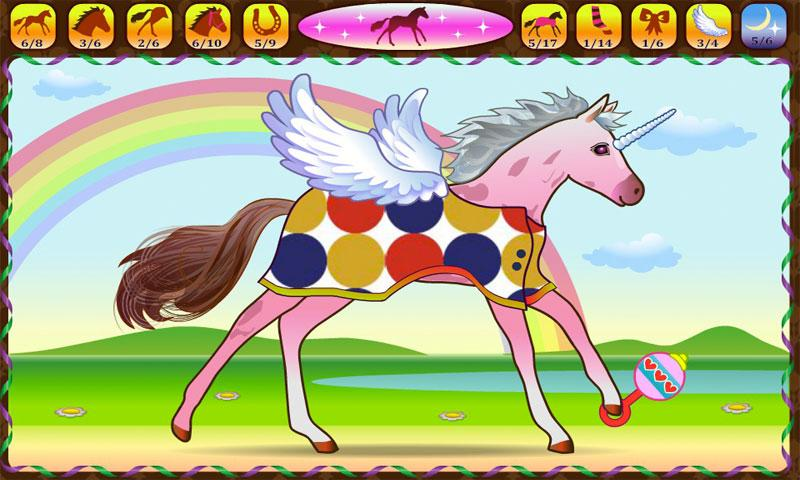 Horse Dressup - screenshot
