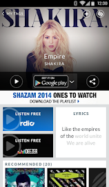 Shazam Screenshot 2