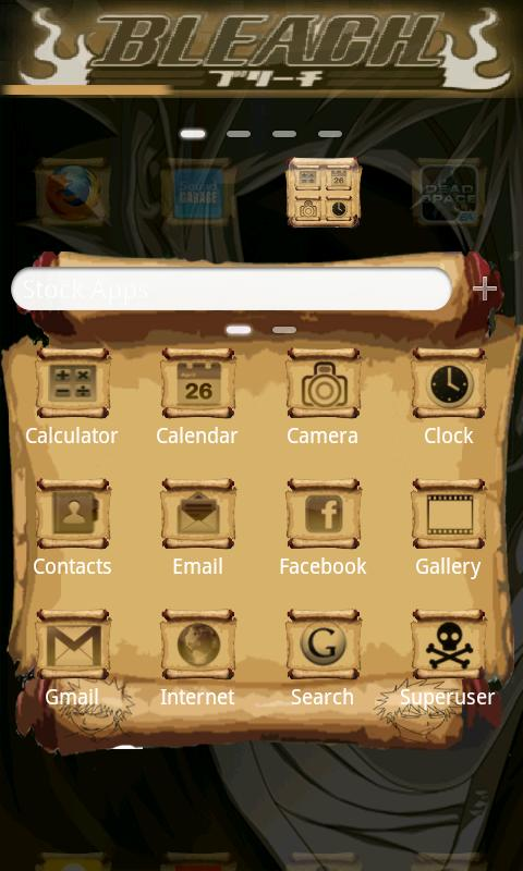 Ichigo GO Launcher EX - screenshot