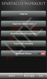 Spartacus Workout Lite - screenshot thumbnail