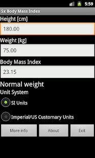 Body Mass Index- screenshot thumbnail