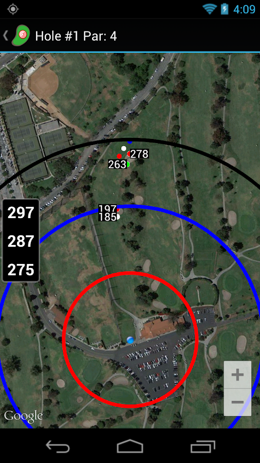 Golf Shot Tracker Pro Golf GPS - screenshot