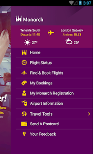Monarch Airlines - screenshot thumbnail