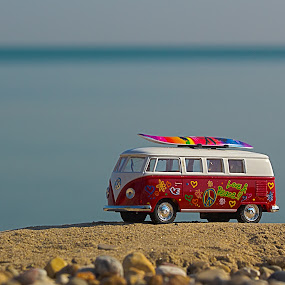 A Day At The Beach by Sue Matsunaga - Artistic Objects Toys