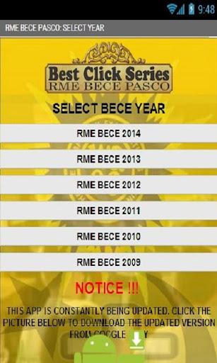 sience apo for 2014 bece topics