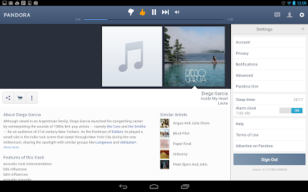 Pandora® Radio Screenshot 13