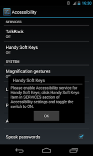Handy Soft Keys - Navigation Bar Screenshot