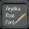 Anjelika Rose Font icon