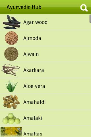 Ayurvedic Plants and Herbs- screenshot