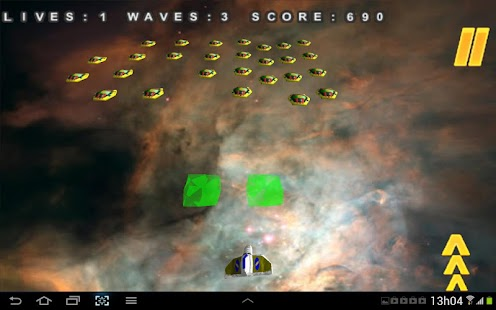 3D Mega Invaders in space game- screenshot thumbnail