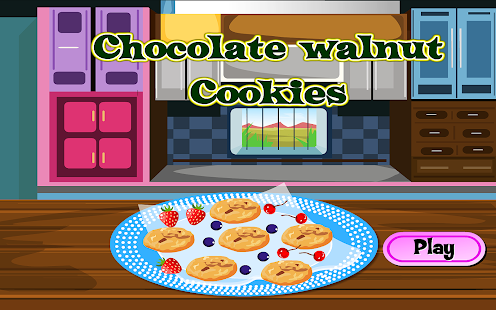 Make Chocolate Walnut Cookies- screenshot thumbnail