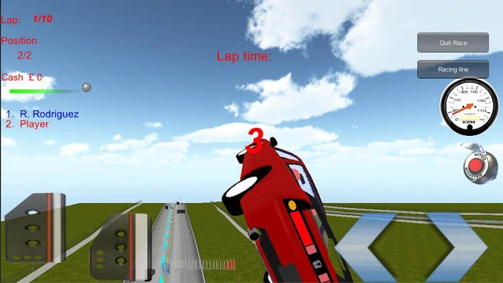 Stunt Race Driving Simulator - screenshot
