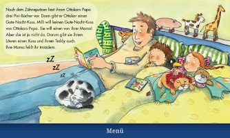 """Screenshot of Pixi-Book """"Millie Sleeps Over"""""""