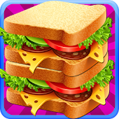 Sandwich Maker Cooking Games