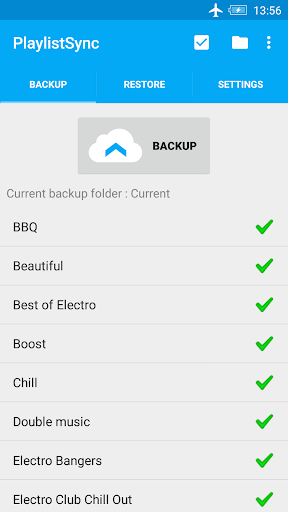 PlaylistSync - Playlist Backup
