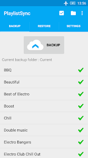 PlaylistSync - Playlist Backup- screenshot thumbnail