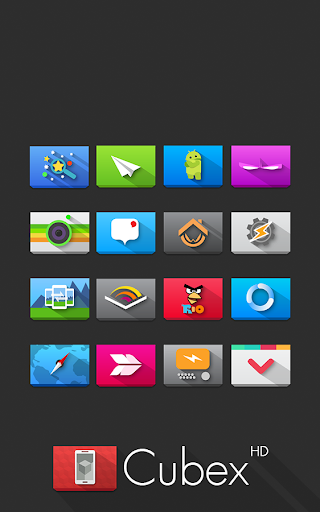Cubex Icon Pack