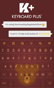 Bear klávesnice - náhled