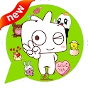 Cute Emoticons & Sticker icon