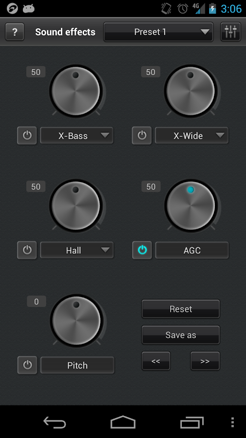 jetAudio Music Player+EQ Plus - screenshot