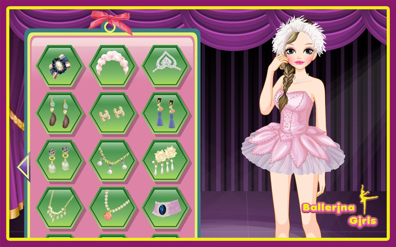 ballerina girls dress up games android apps on google play