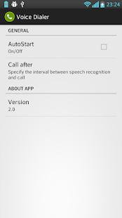 Voice Dialer (Voice Dialing) - screenshot thumbnail